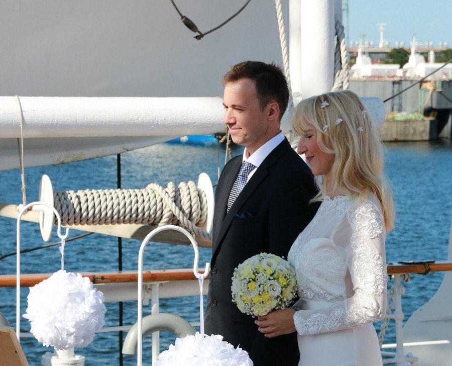 Ślub na Darze Pomorza